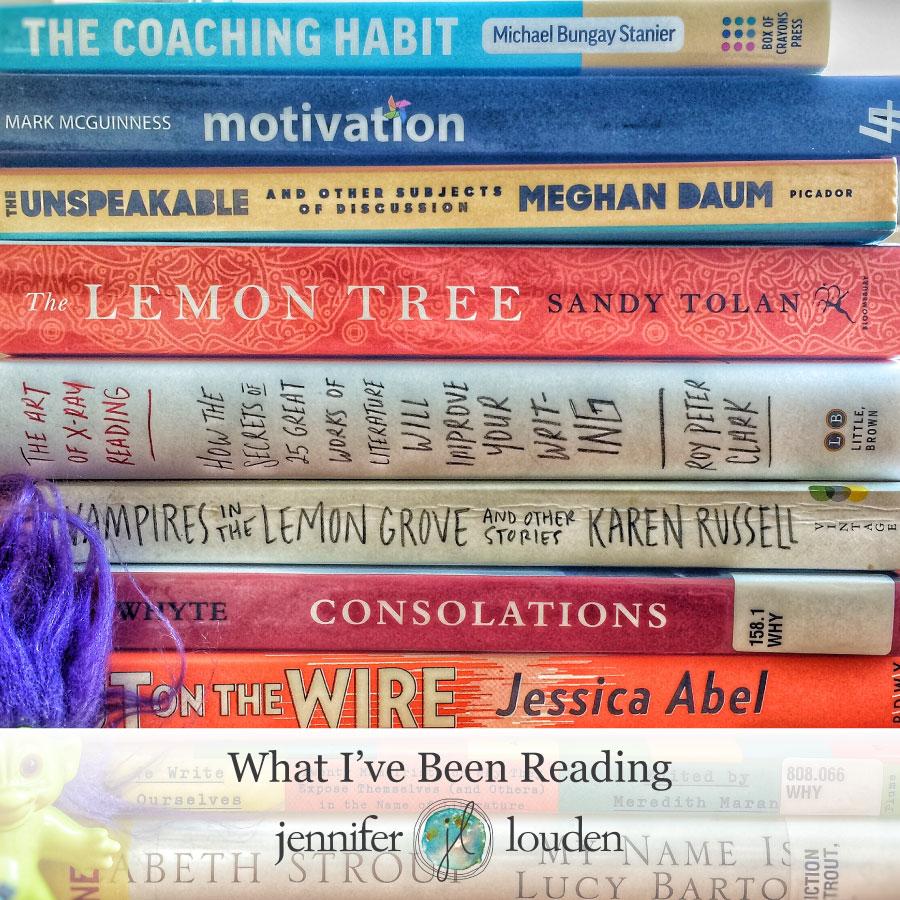 What I've Been Reading by Jen Louden